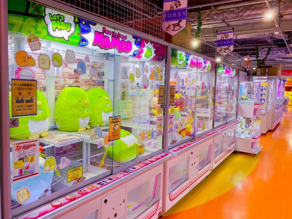 namco横浜ワールドポーターズ店 店内