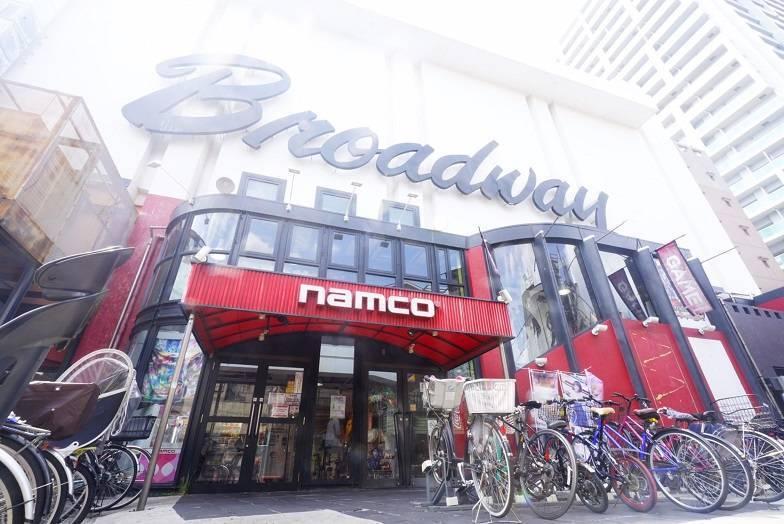 中野駅周辺でクレーンゲームができるスポット「namco中野店」外観