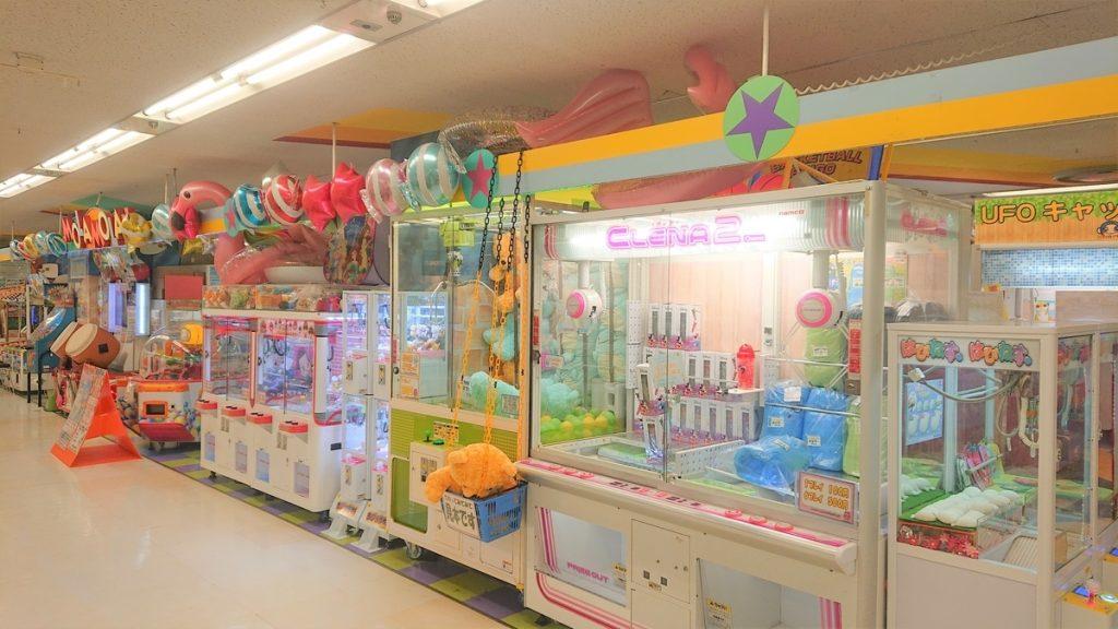 東神奈川駅周辺でクレーンゲームができるスポット「ハローズガーデン東神奈川店」内観