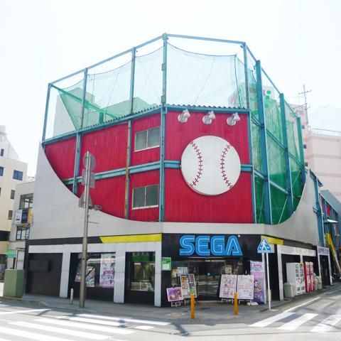 本厚木駅周辺でクレーンゲームができるスポット「パームトップス」外観