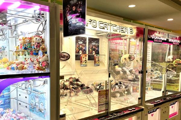 品川駅周辺でクレーンゲームができるスポット「アミューズアイランドセガ」内観