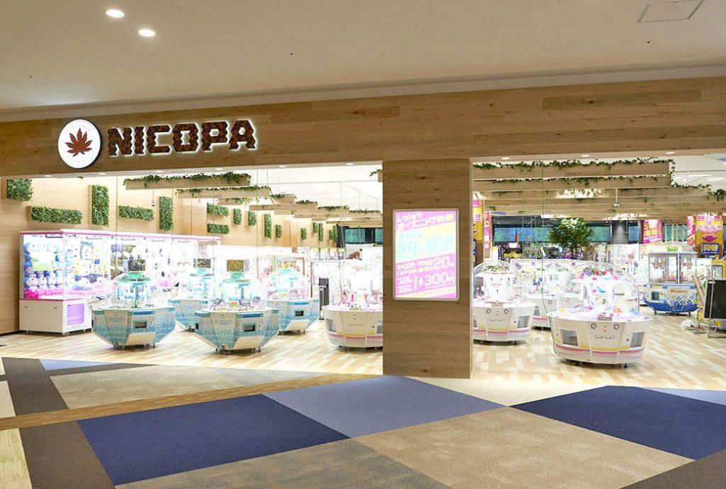 高尾駅周辺でクレーンゲームができるスポット「NICOPAイーアス高尾店」内観