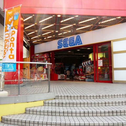 水道橋駅付近でクレーンゲームができるスポット「セガ東京ドームシティ」外観