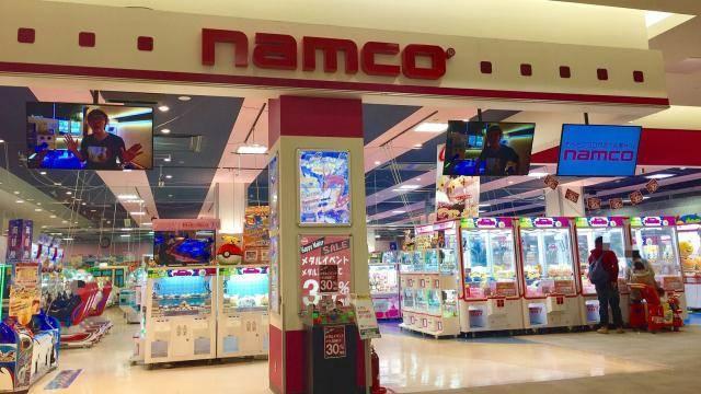 JR埼京線 北戸田駅周辺でクレーンゲームができるスポット「namcoイオンモール北戸田店」