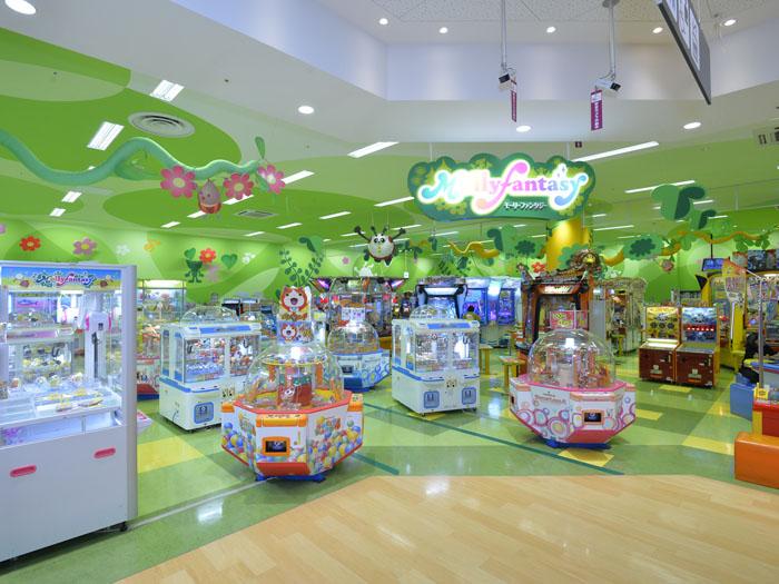 JR埼京線 北戸田駅周辺でクレーンゲームができるスポット「モーリーファンタジー 北戸田店」