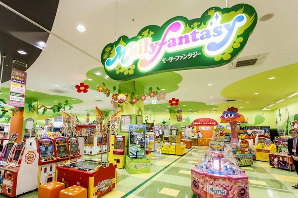 JR埼京線 北与野駅周辺でクレーンゲームができるスポット「モーリーファンタジー 与野店」