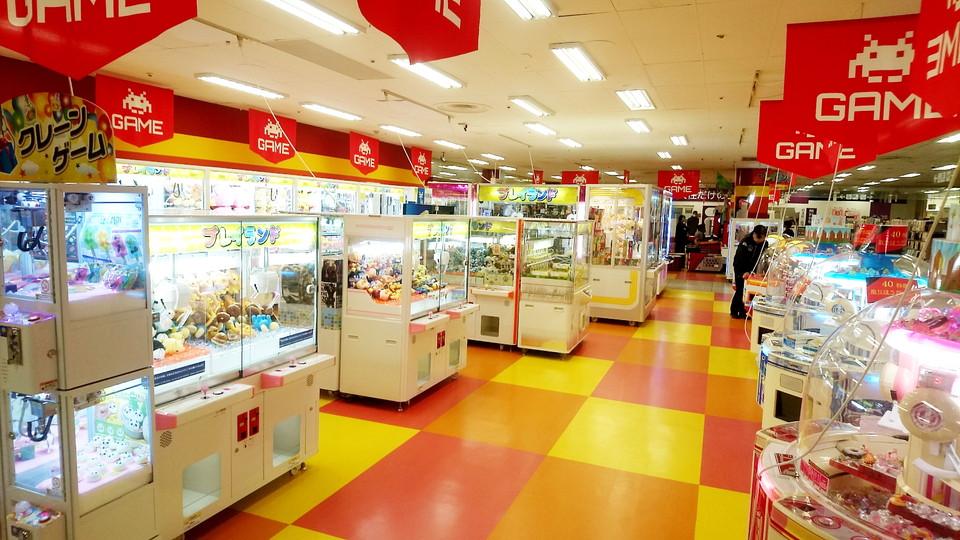 JR埼京線 南与野駅周辺でクレーンゲームができるスポット「プレイランド イオン北浦和店」